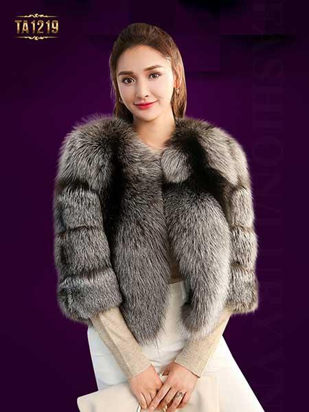 Sang chảnh, sành điệu với áo lông thú Quảng Châu