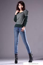 Quần Jeans cá tính, thời trang.