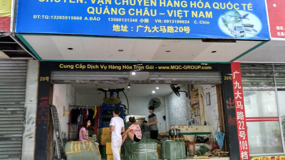Địa chỉ kho hàng tại Quảng Châu của Order hàng Quảng Châu