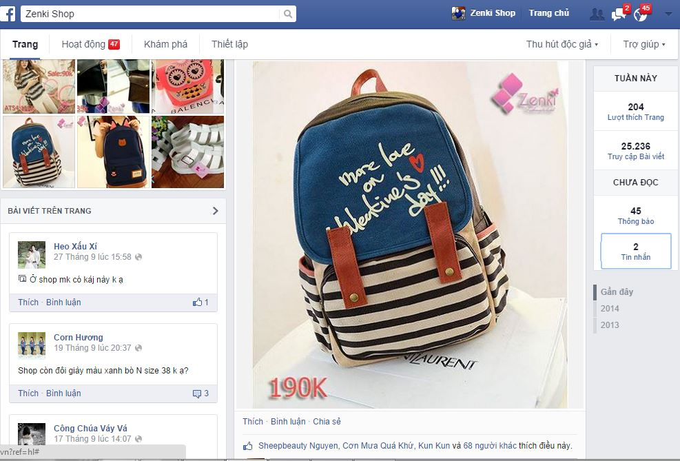 Cách kinh doanh hàng thời trang trên facebook kết hợp order hàng taobao